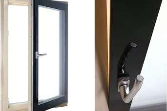 В Украине представлены деревянные окна и двери серии Hi-Tech