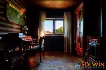 Solwin представила на украинском рынке окна из деревянного бруса