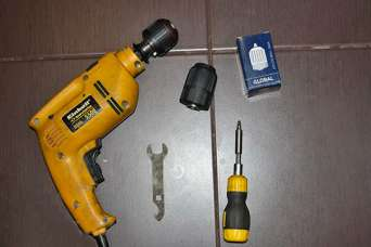 Как заменить патрон на электродрели