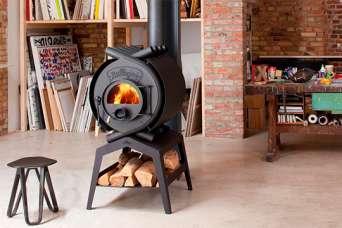 Как обогреть дом конвекционной печью