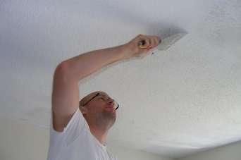 Как быстро ликвидировать трещины на потолке. Видео