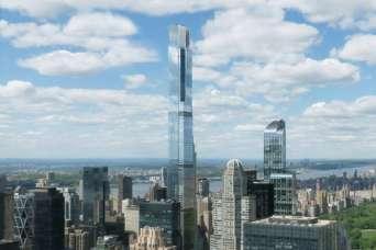 Строительство самого высокого жилого небоскреба завершается