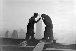 Самые бесстрашные монтажники-высотники 20-го века. Фото
