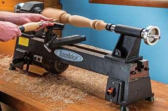 Как выбрать токарный мини-станок по древесине. Фото и видео