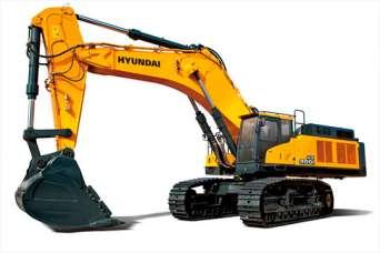 Hyundai CE будет выпускать сверхмощный гусеничный экскаватор HX900 L