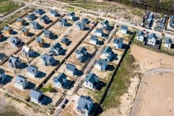 На загородном рынке Киева продается 4,5 тыс. домов