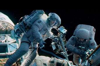 Как работают обычные ручные инструменты в космосе. Видео
