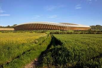 Строительство первого деревянного стадиона одобрили