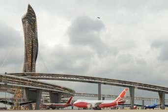 Студенты придумали аэропорты будущего