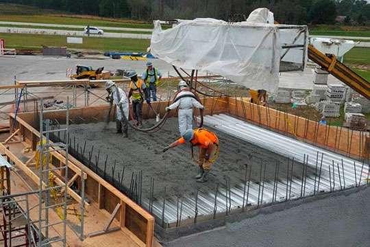 Появился еще один строительный материал будущего – токопроводящий бетон