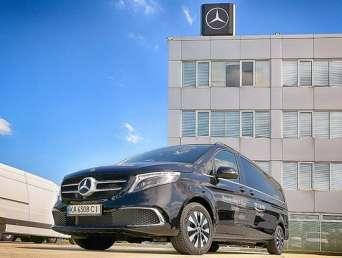 В Украину вернулись тест-драйвы минивэнов Mercedes-Benz