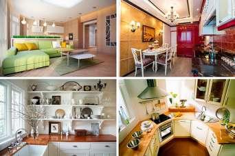 46 вариантов современного оформления кухни. Часть 2. Фото